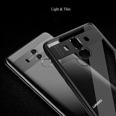 For Huawei Mate 10 Pro TPU Shockproof Light Hybrid Clear Silicone Gel Cover Case