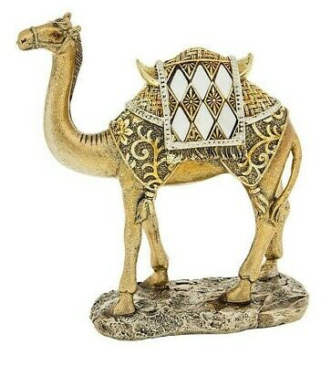 Mother of Pearl Camel Figure Ornament/ Figure Gift - Gold or Silver Tint