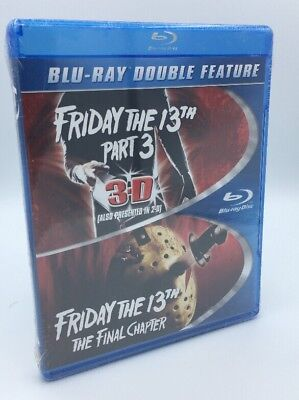 Friday the 13th Part 3 / Friday the 13th: Final Chapter (Blu-ray, 2015) NEW OOP
