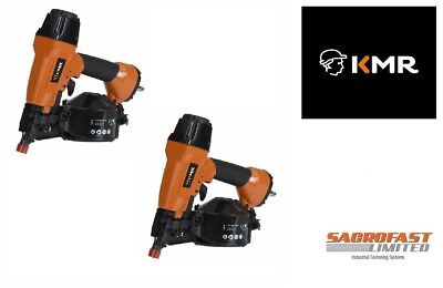KMR 3551 AIR COIL NAILER x 2