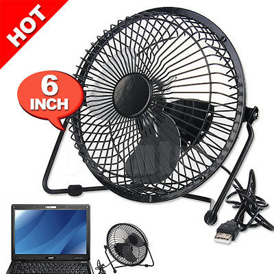 Jumbo Desk Cooling Cooler Laptop PC Notebook Mini USB Fan Portable Super Mute AU
