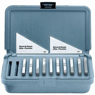 "Brown & Sharpe 12 Piece Precision Angle Block Set, Dimensions: 3''L X 1/4""T"