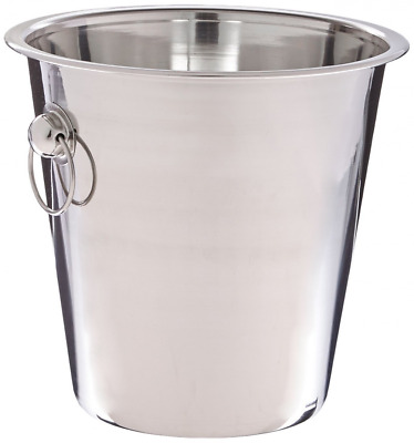 Wine Bottle Cooler Champagne Stainless Steel Party Bar Ice Bucket 4 Qrt Trusted