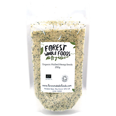 Organic Hulled Hemp Seed 250g - Forest Whole Foods