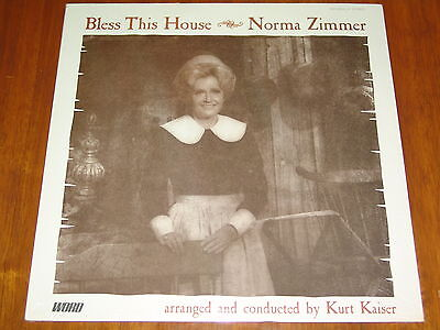 Norma Zimmer - Bless This House - (Lawrence Welk Show) 1972 New Sealed Lp ! ! !