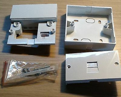 NTE5A  TELEPHONE MASTER LINE SOCKET BRAND NEW by Pressac with Back Box