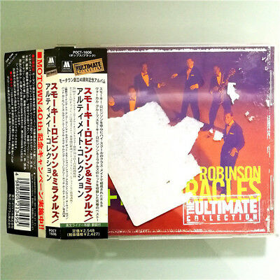 Smokey Robinson+The Miracles-The Ultimate Collecti Poct-1606 Japan Cd Obi A-7494