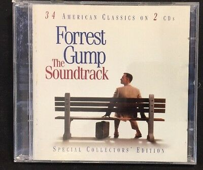 Forrest Gump [Remaster] by Original Soundtrack (CD, Aug-2001, 2 Discs, Sony Mus…