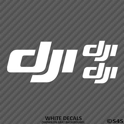 DJI Logo Phantom Vinyl Decal Pack Quad Copter Inspire FPV Spark Mavic Drone