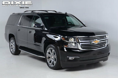 Chevrolet Suburban LTZ-Navigation-DVD-Blind Spot-Moonroof-Lane Departure
