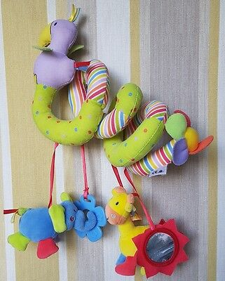 Mothercare Baby Wild Animal Spiral Activity Toy