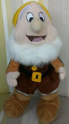 Happy Dwarf from Snow White and The Seven Dwarfs Animated Plush Disney Store