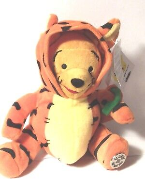 Disney Winnie the Pooh As Tigger Used W/Tags Hoodie Collectible 2001 Halloween