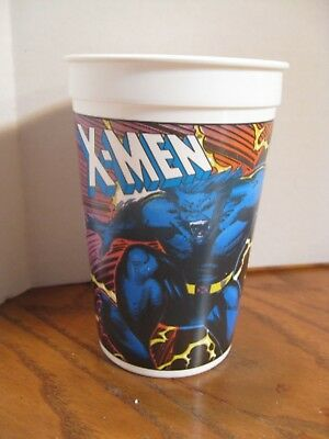 Pizza Hut - X-Men- 1993- Plastic Cup - Beast & Storm