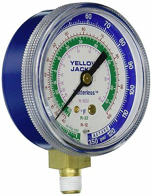 Yellow Jacket 49002 blue pressure gauge