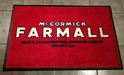 Farmall 3x5' shop rug. Farm equipment, tractor, diesel, farming memorabilia