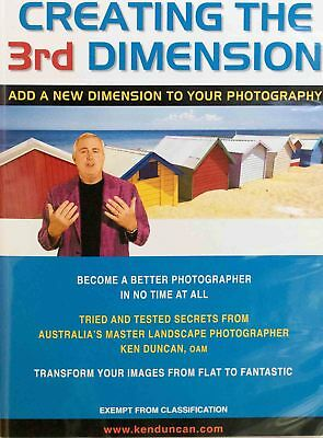Ken Duncan Digital DVD Creating The 3rd Dimension Photo Instruction Manual PAL 4