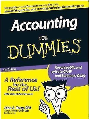 Accounting For Dummies 4th Edition PDF Read on PC/SmartPhone/Tablet