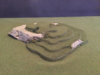Warhammer, LOTR, Grunts, Earth, Sci-fi, Model Terrain & Scenery Hill Cliff 2