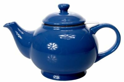 Benzer - Chadwick Chai Tea Pot with Strainer Gloss Blue 1500ml