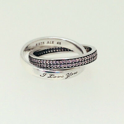 fcefbcfcf GENUINE PANDORA (S) Sweet Promise Ring 196546PCZ FREE DELIVERY ...