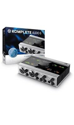 Native Instruments Komplete Audio 6 - Digital Audio Interface for DJ and Studio