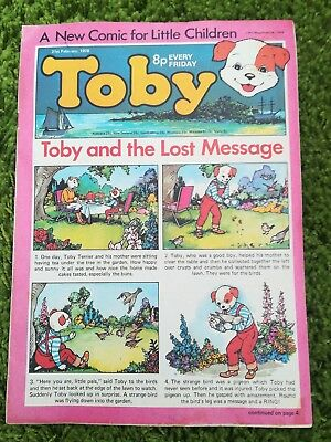 Toby comic issue #4 21st February 1976