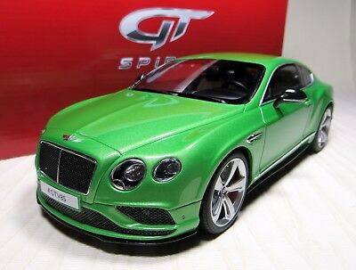 Gt Spirit Gt 077: 2015 Bentley Continental Gt V8-S Coupe. Ltd. Ed: 1,500. Bnib.