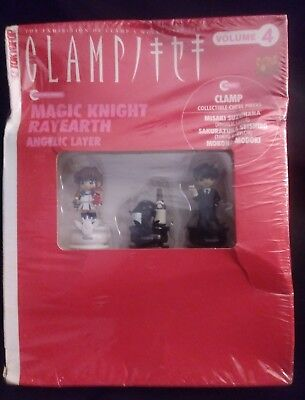 Magic knight Rayearth Clamp collectible chess pcs.