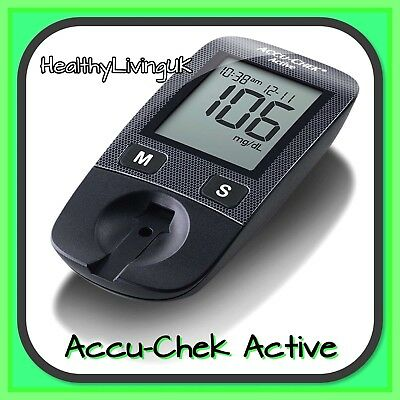 Accu-Chek Active Blood Glucose Meter/Monitor - Single Unit Meter Only