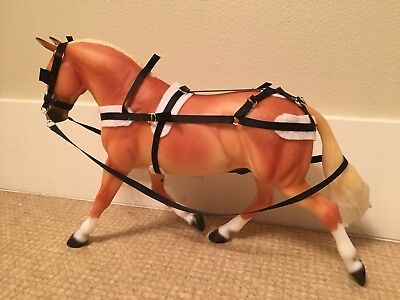 Traditional Breyer Horse Carriage Tack Set
