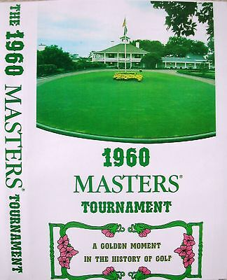 1960 Masters Tournament, Arnold Palmer in COLOR on DVD!