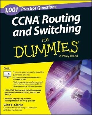 CCNA Routing and Switching Practice Questions For Dummies Read on PC/Phone/Table