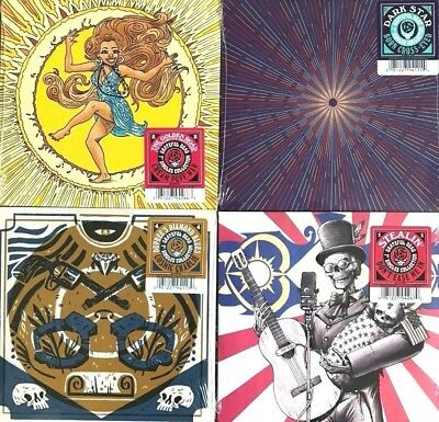 Grateful Dead Limited Edition 2017 45's Set - BRAND NEW, VERY RARE 4 record set