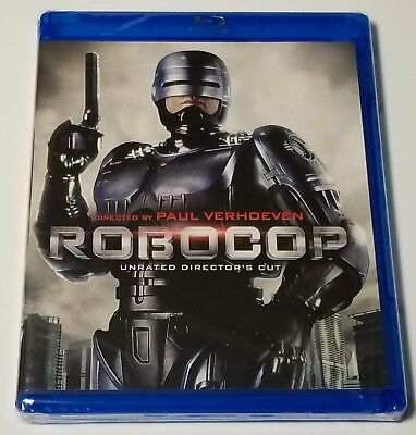 Robocop: Unrated Directors Cut (Blu-ray Disc, 1987) Brand New/Sealed