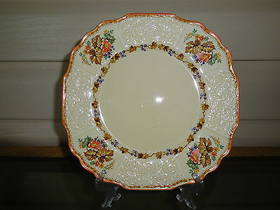 "Myott Staffordshire ""Blueberry"" Entree Plate 2909 England 1930s"