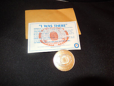 Aug 17, 1973 NFL Football Inaugural Game Buffalo Bills v Redskins game day token