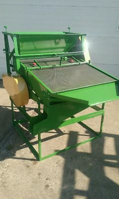 Lightfoot seed cleaner scalper mill STURDY ALL STEEL Mfg. in  EAU CLAIRE, WI
