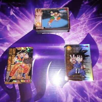 FULL SET 112 sur 112 Cartes à collectionner Dragon Ball Z Skill cards FR DBZ VF