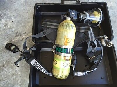 Msa Scba Self Contained Breathing Apparatus (Complete)