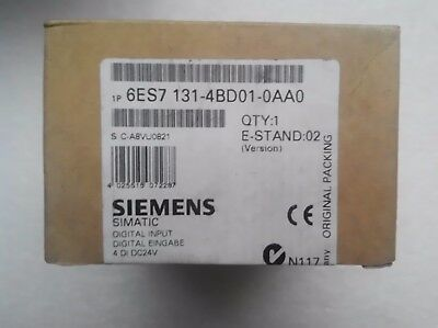1PC New In Box SIEMENS Input Module 6ES7 131-4BD01-0AA0