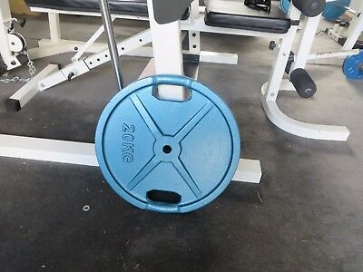 Weight Plates 20Kg - 4 X Brand New