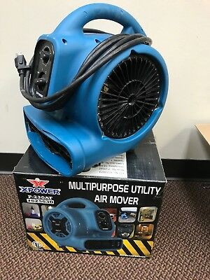 XPOWER 12.8-in 3-Speed Air Mover Fan P-230AT