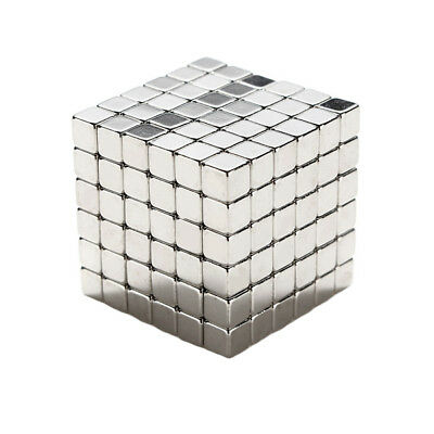 216pcs 3mm Cube Magnets Square 3D Puzzle Ball Sphere Magnetic Magnets