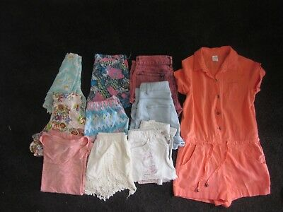Bulk x 10 Girls Tweens Clothes Size 12-14 SHORTS JUMPSUIT TOP Supre Target