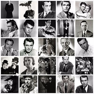 Classic Vintage Film Star Actors Movie Star Retro  A4 Posters Print Wall Deco
