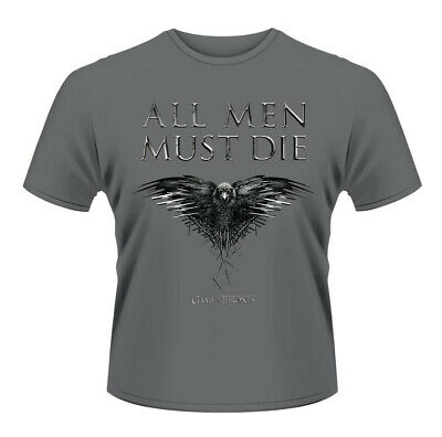 Game of Thrones All Men Must Die Official Tee T-Shirt Mens Unisex
