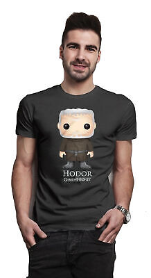 Game of Thrones Hodor Bling Art Cartoon Official Tee T-Shirt Mens Unisex