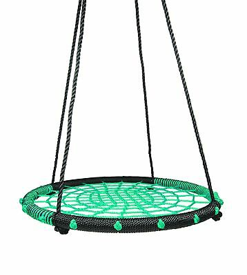 Giant Padded Fabric Crows Nest Rope Swing Spider Web Net