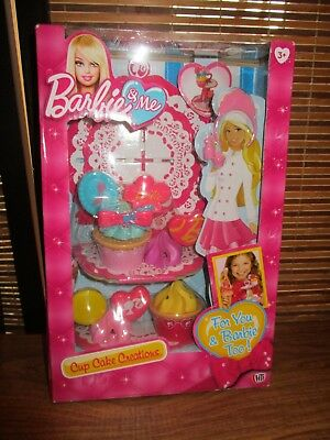 Barbie and Me Play Food Set Cup Cake Creations For You and Barbie Too (NEW)